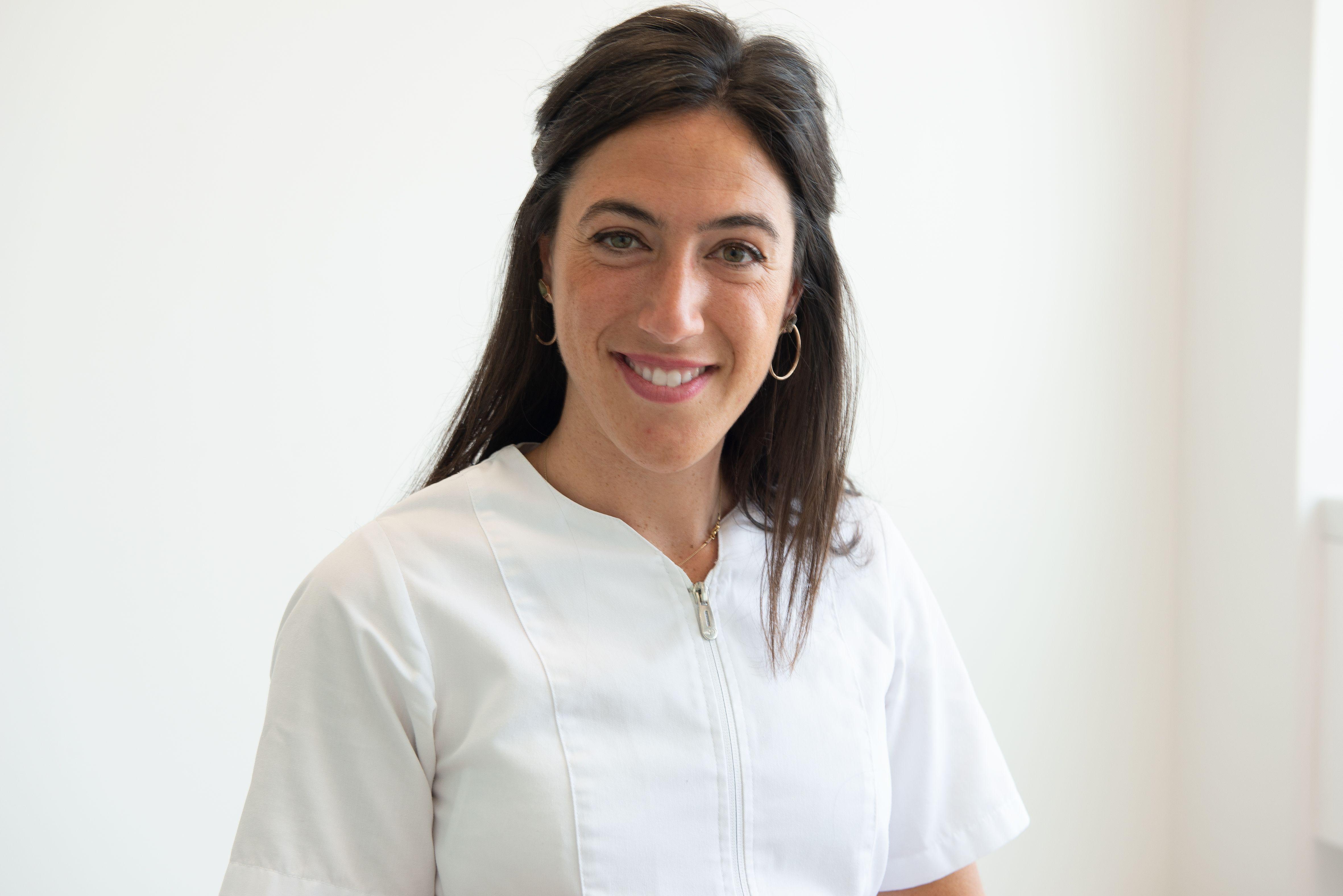 Podóloga de la Clínica María Arberas