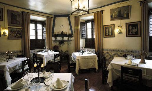 mesón restaurante en San Lorenzo del Escorial. cocina Castellana