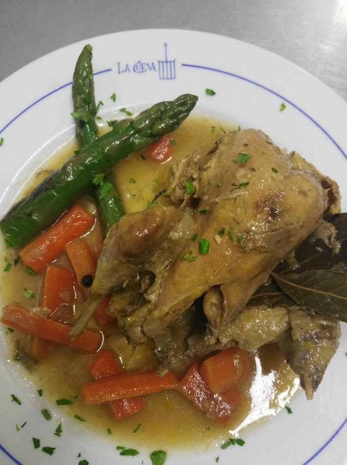 restaurante en San Lorenzo del Escorial