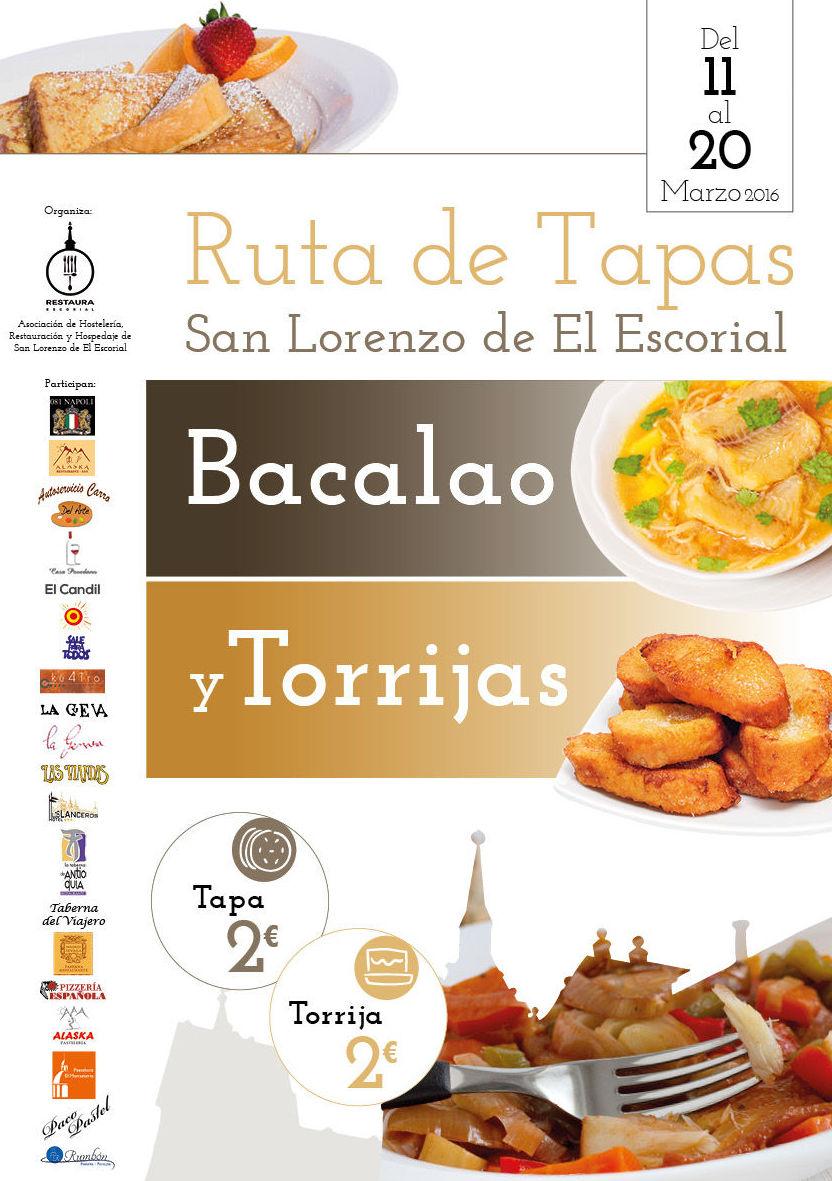 Ruta de Tapas de Bacalao y Torrijas
