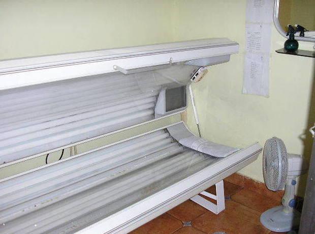 Solárium en Peluquería M. Morán
