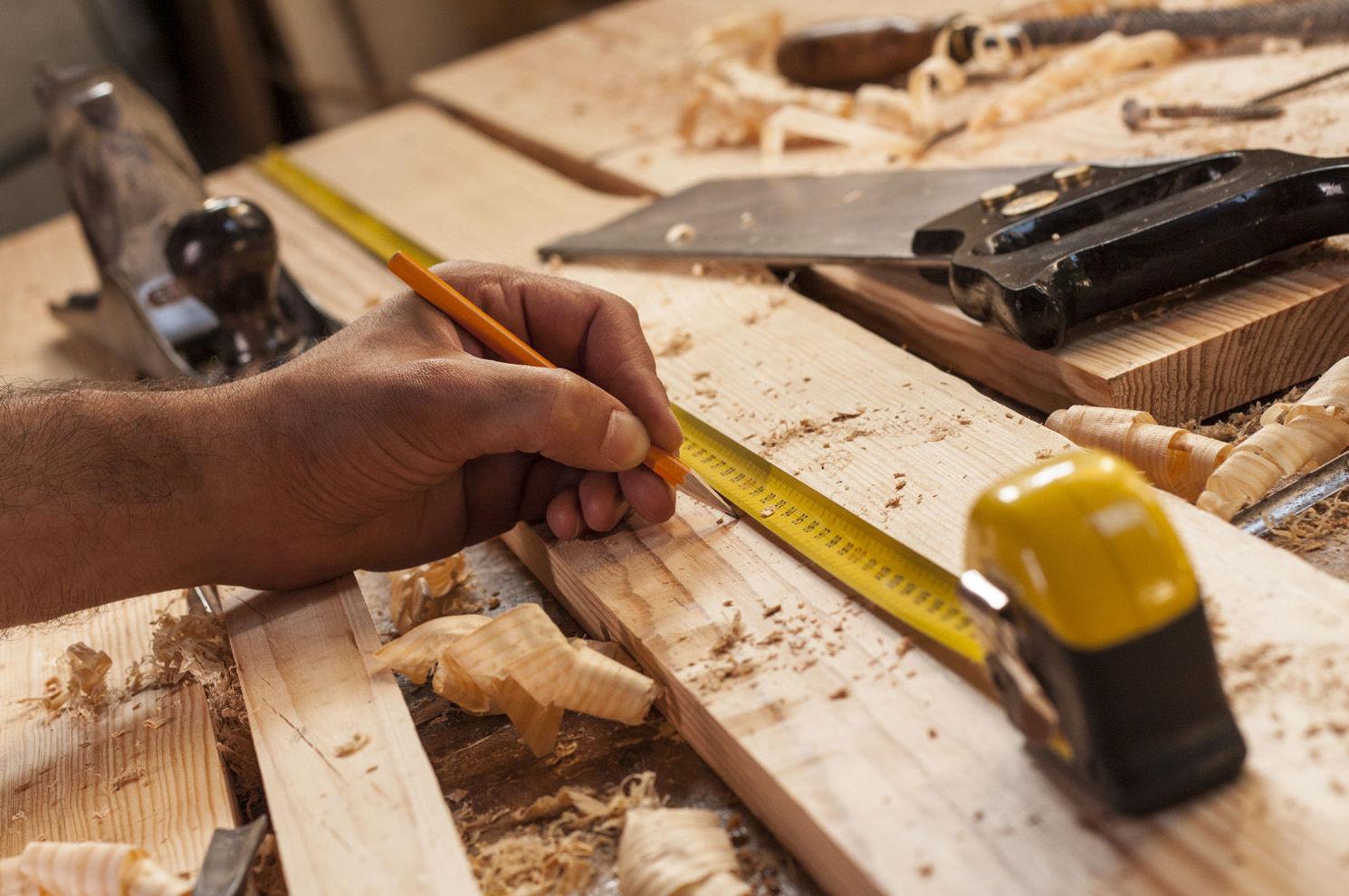 Almacén de maderas