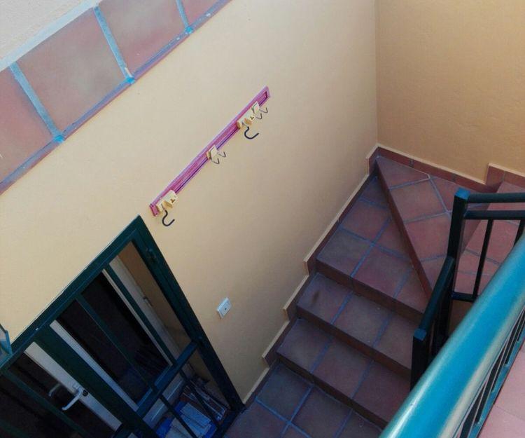 Escaleras para sótano