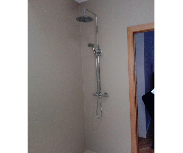 Baños con plato de ducha