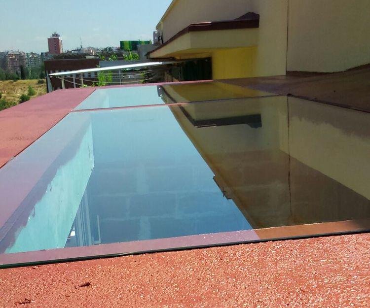 Trabajos de techo solar, cerramientos y terrazas en Madrid