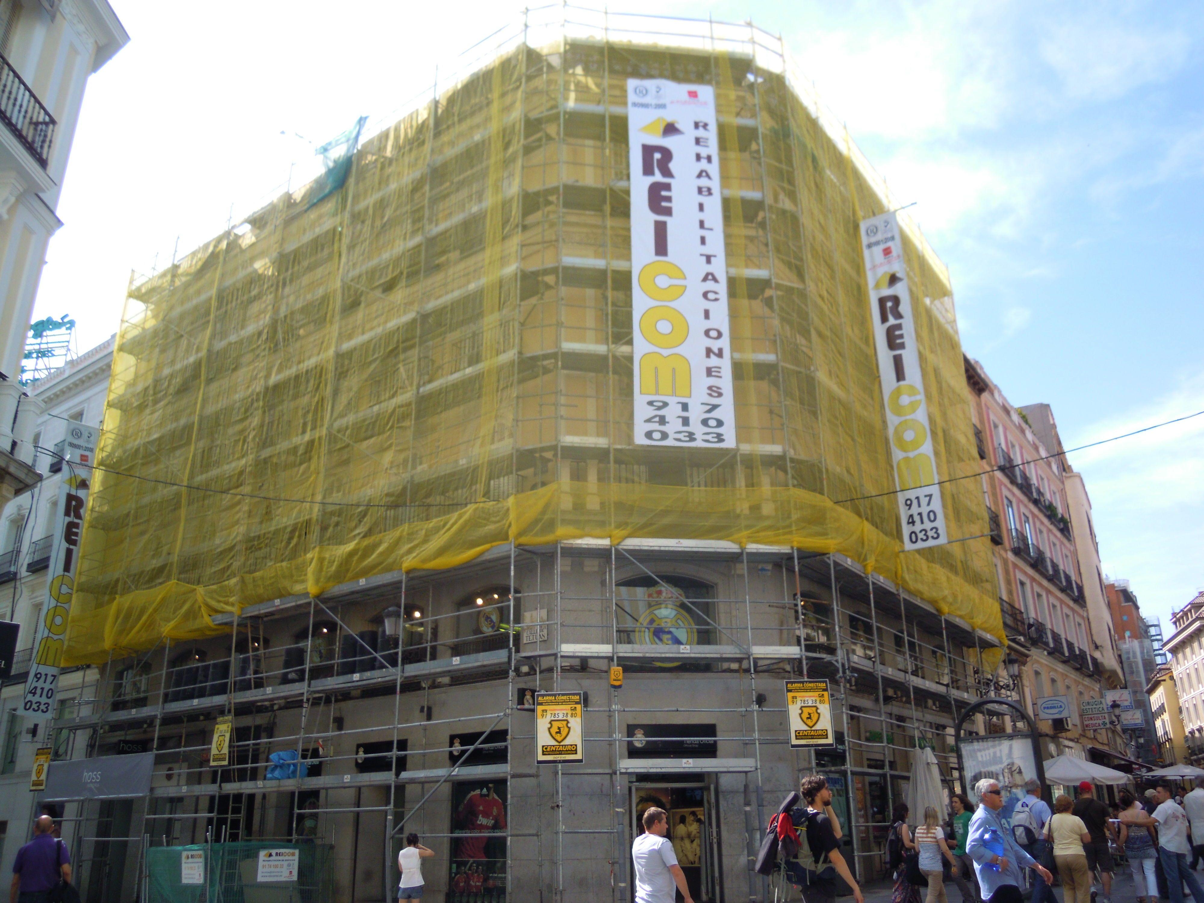Entre las empresas de rehabilitaci n de edificios en el centro de madrid destaca reicom por la - Empresas domotica madrid ...