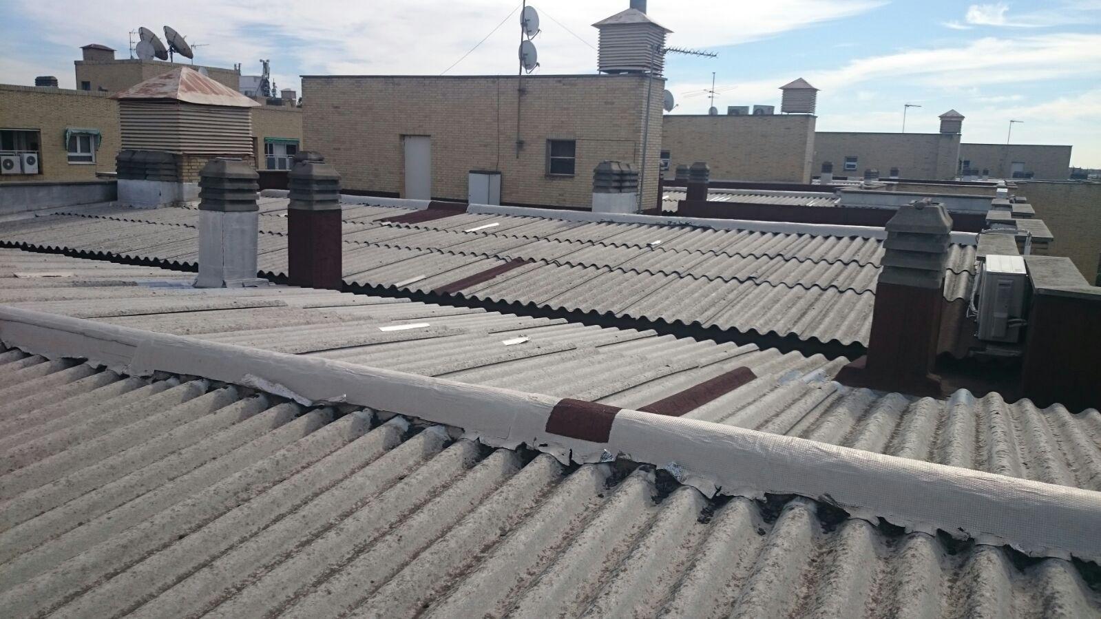 Foto 22 de Cubiertas y tejados en Leganés | Cubiertas Imperdur, S.L.