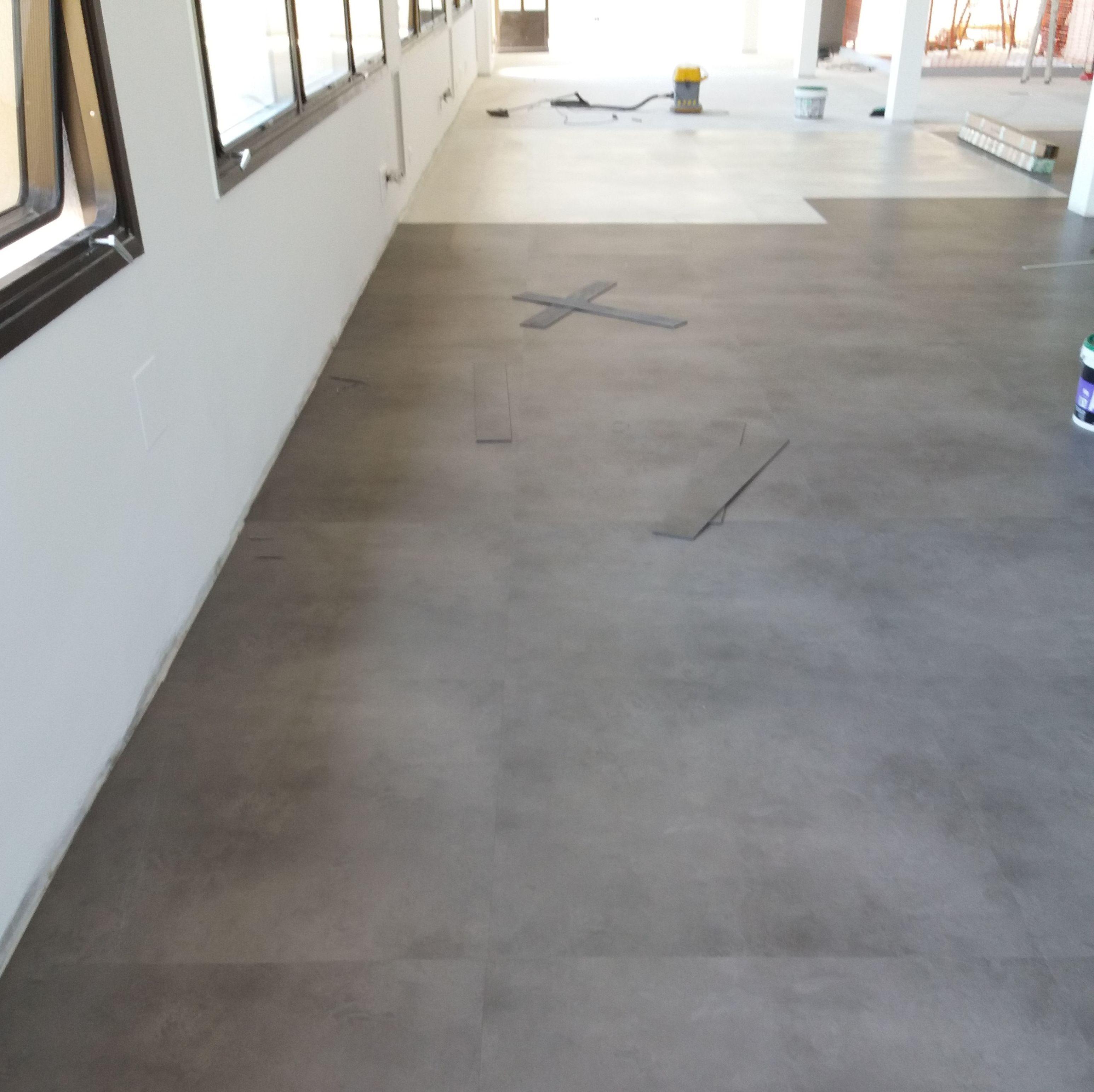 Colocacion de PVC en Oficinas