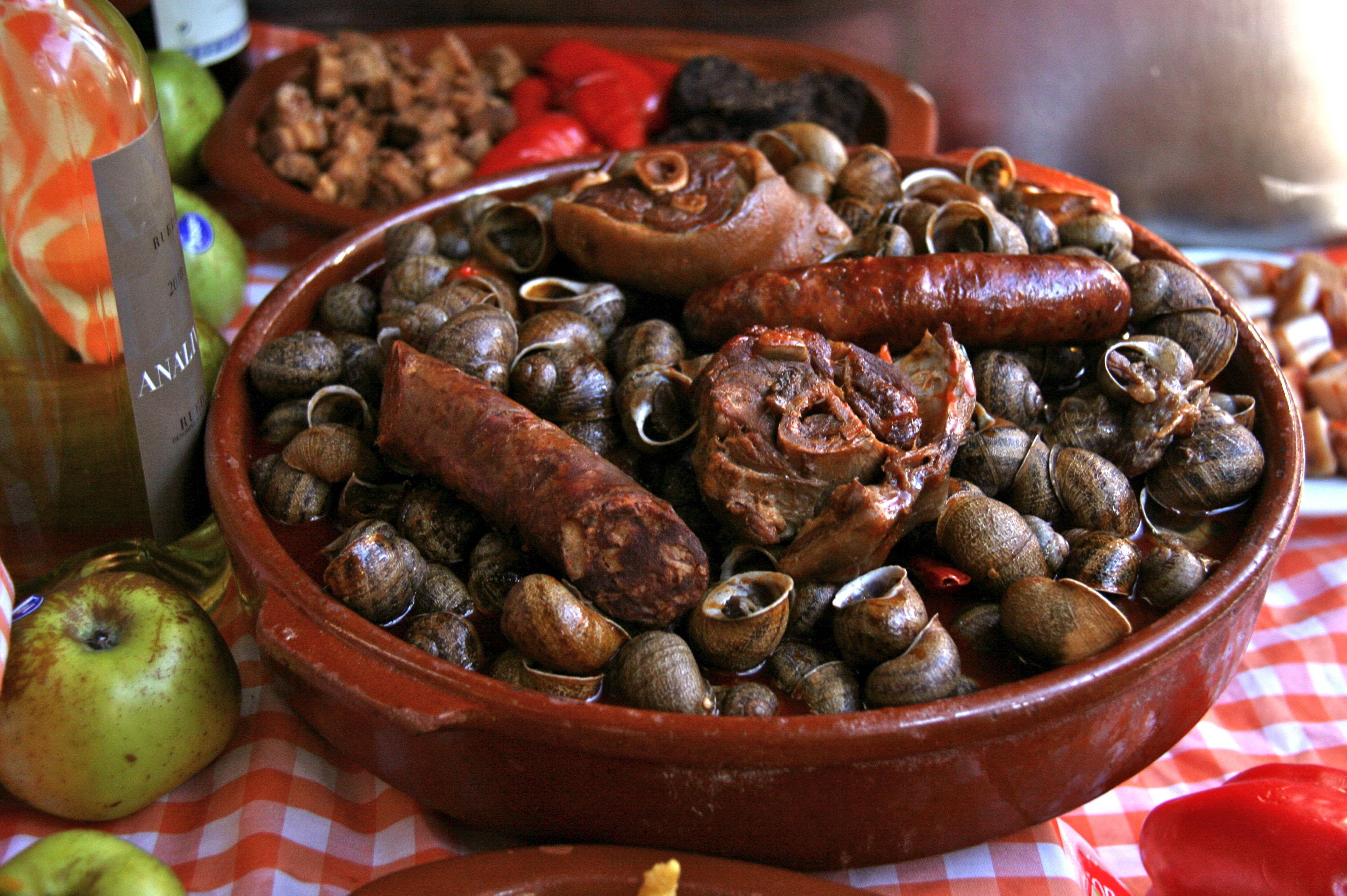 Restaurante especializado en caracoles en Lleida