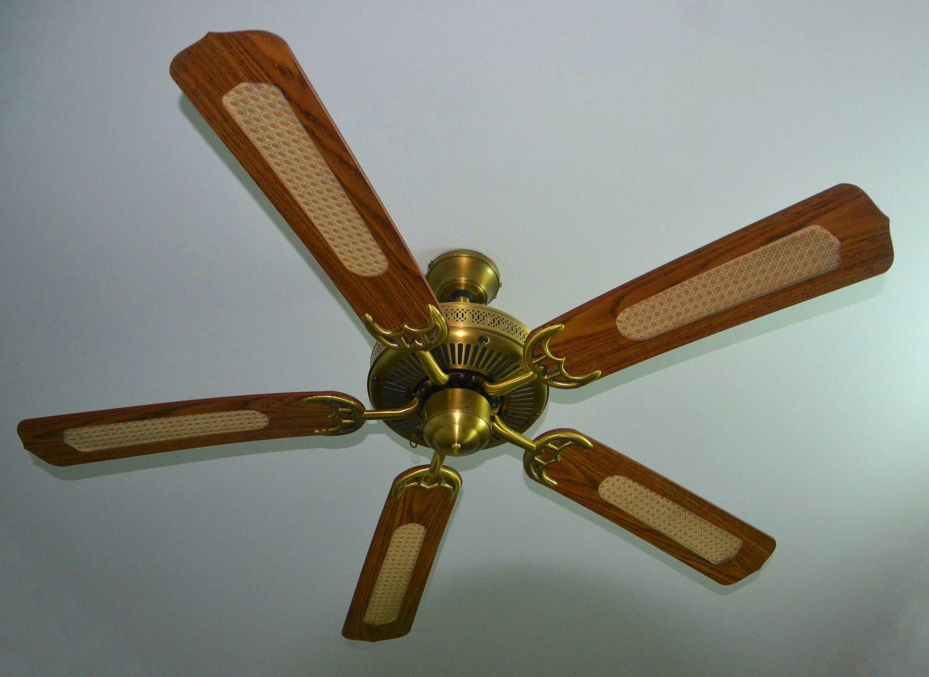 Instalación ventilador de techo