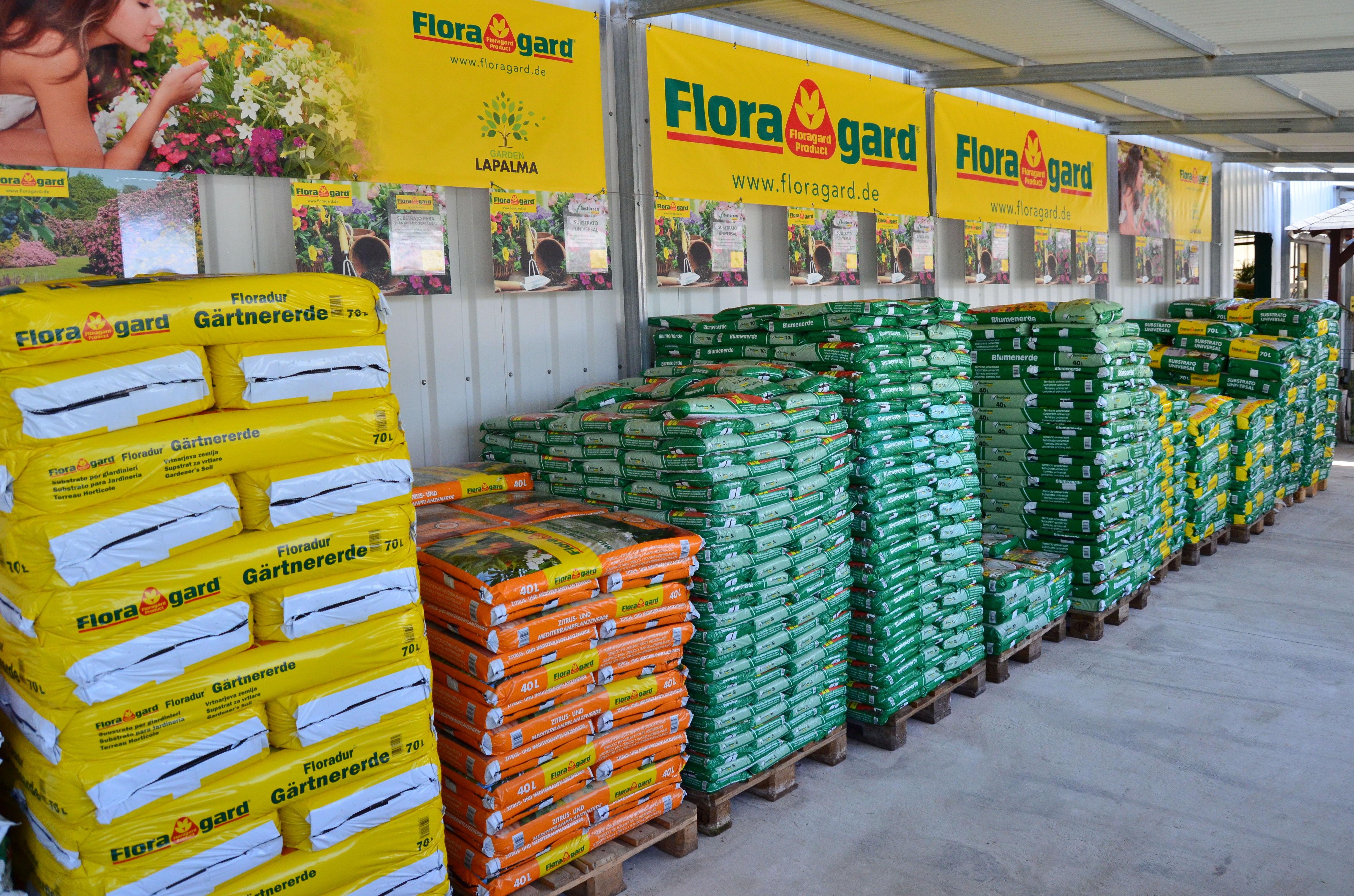 Floragard: Productos de Garden La Palma