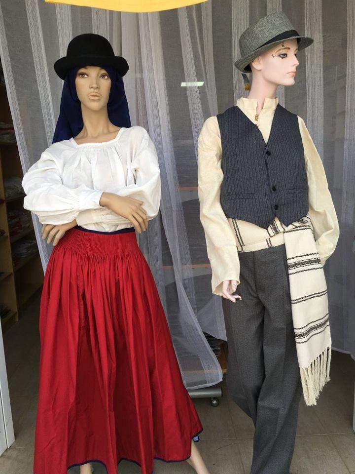 Tienda de ropa típica canaria en Puerto del Rosario