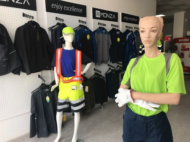 Tiendas de ropa de trabajo en Puerto del Rosario