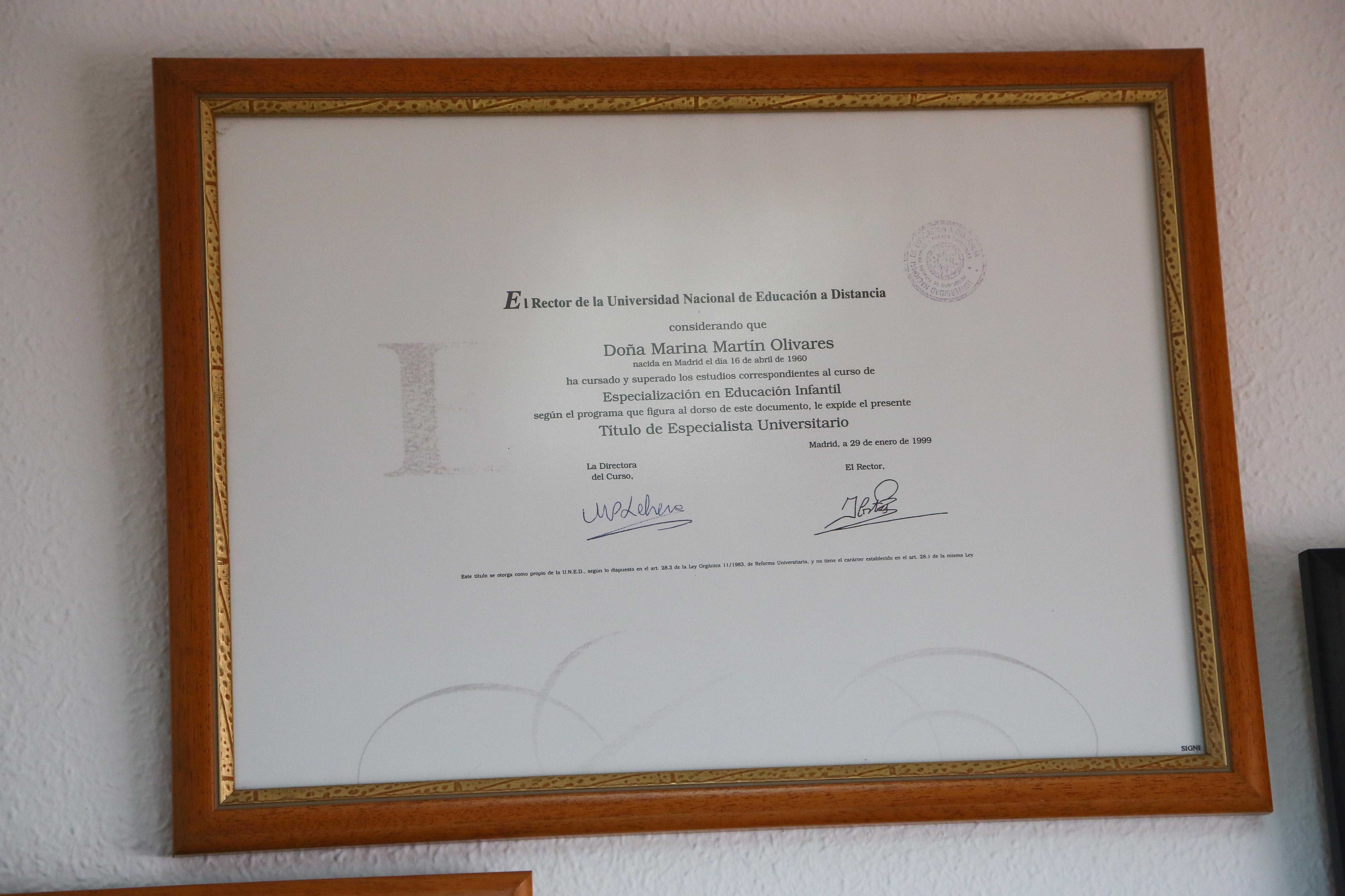 Titulación que acredita la profesionalidad de los educadores