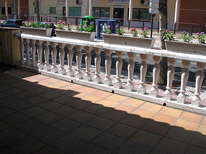 Terraza de la guardería