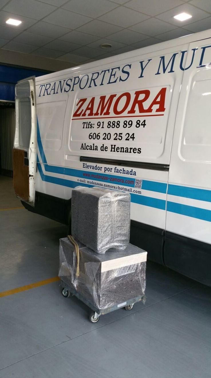 Transportes y mudanzas en Alcala de Henares