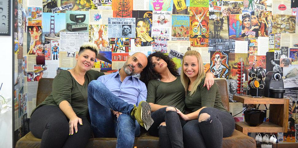 Beatriz, Quique, Elena y Sandra