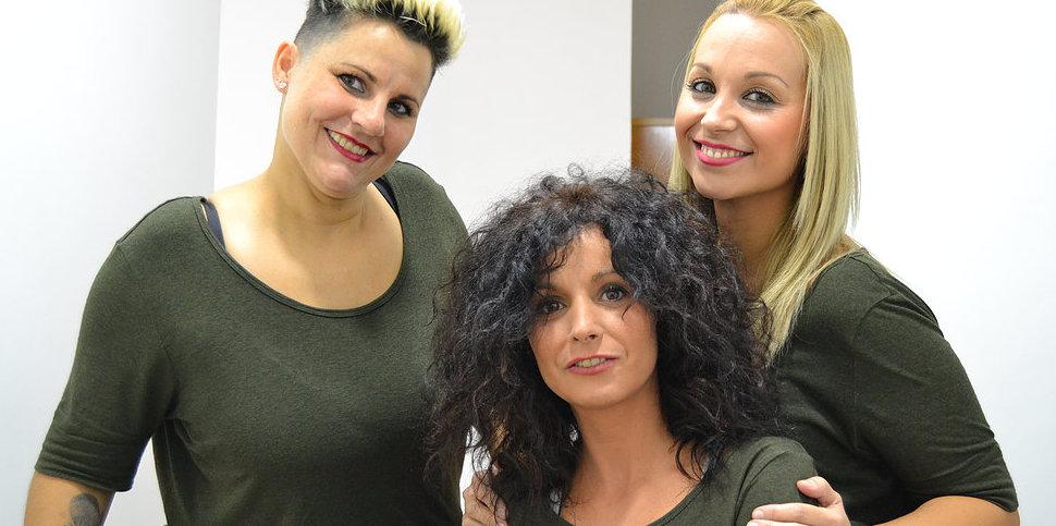 Beatriz, Elena y Sandra