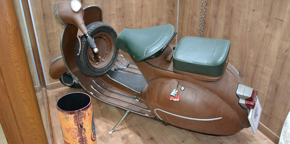 Vespa rusty look