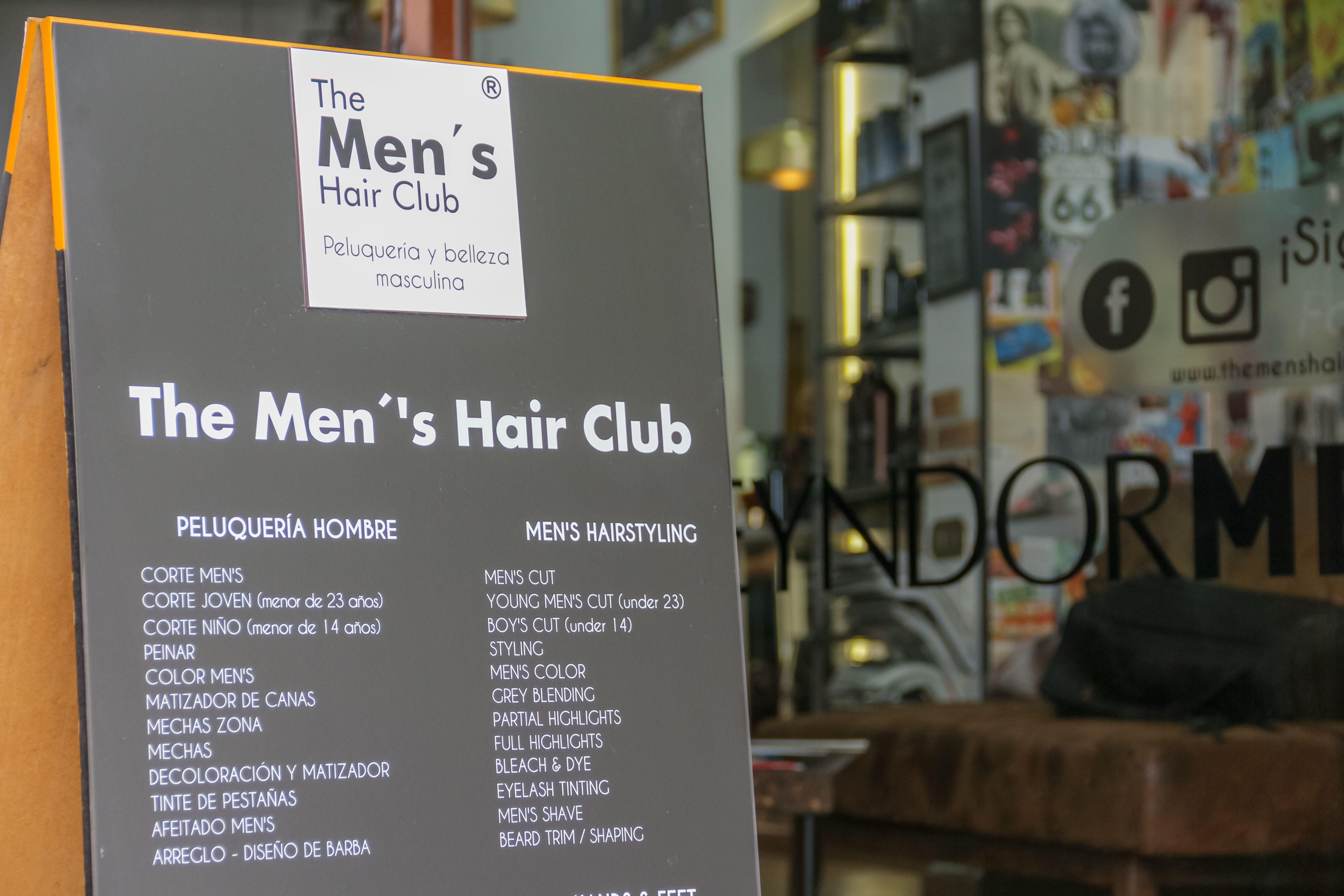 Peluquería y centro de estética masculina en pleno centro de Madrid