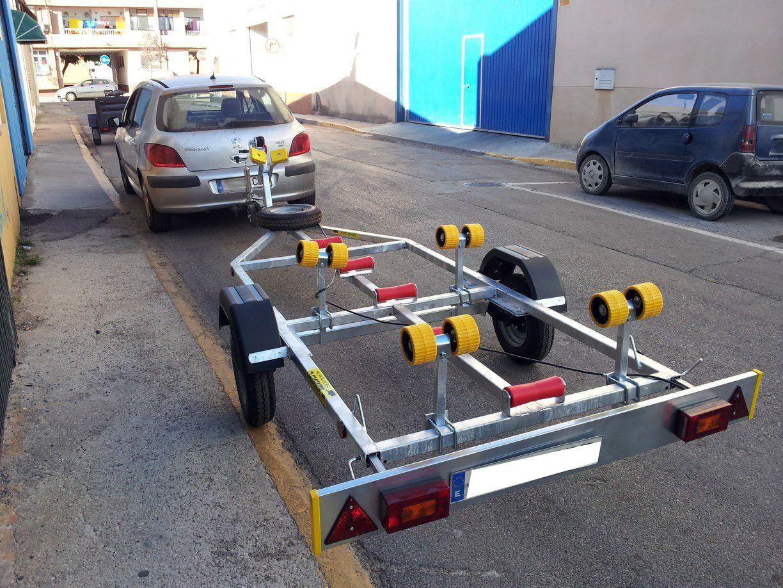 Remolques para embarcaciones en Cádiz