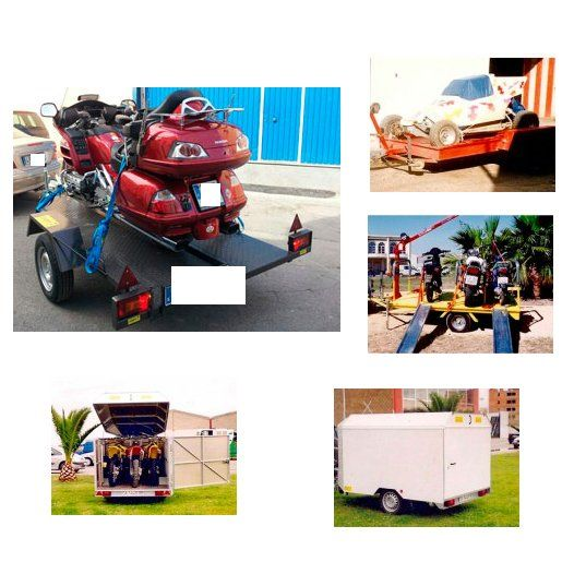 Remolques para motos: Remolques de Remolques TML