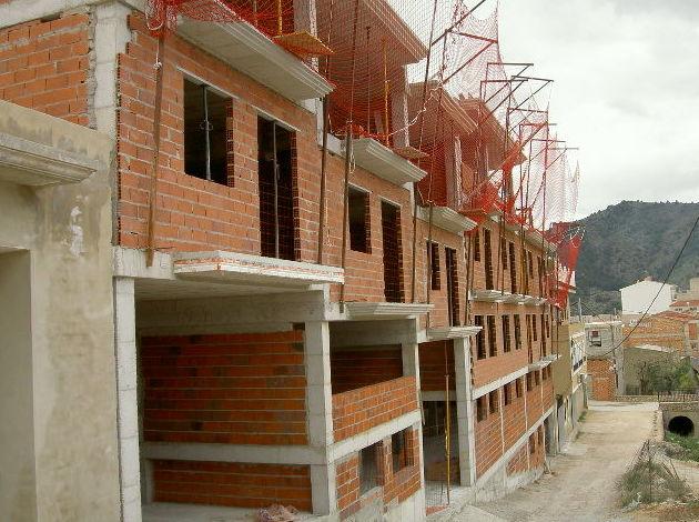 Construccion de un Edifico de viviendas en fase de estructura