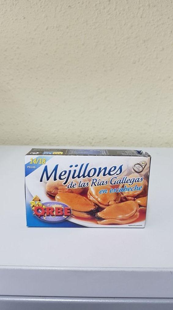 MEJILLONES EN ESCABECHE: Catálogo de Bardenas Manipulados, S.L.