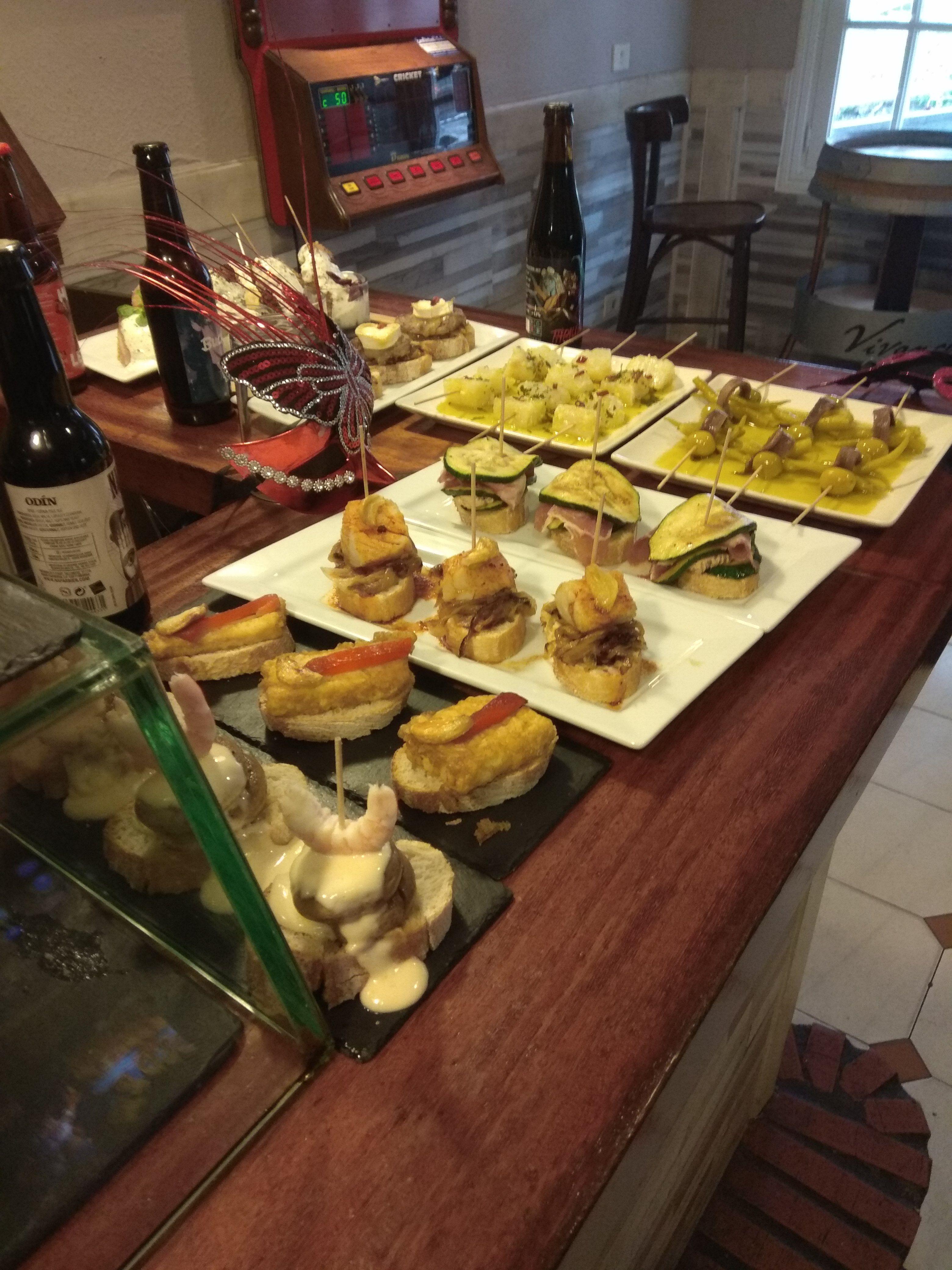 Los mejores pinchos y tapas en Portugalete Vizcaya