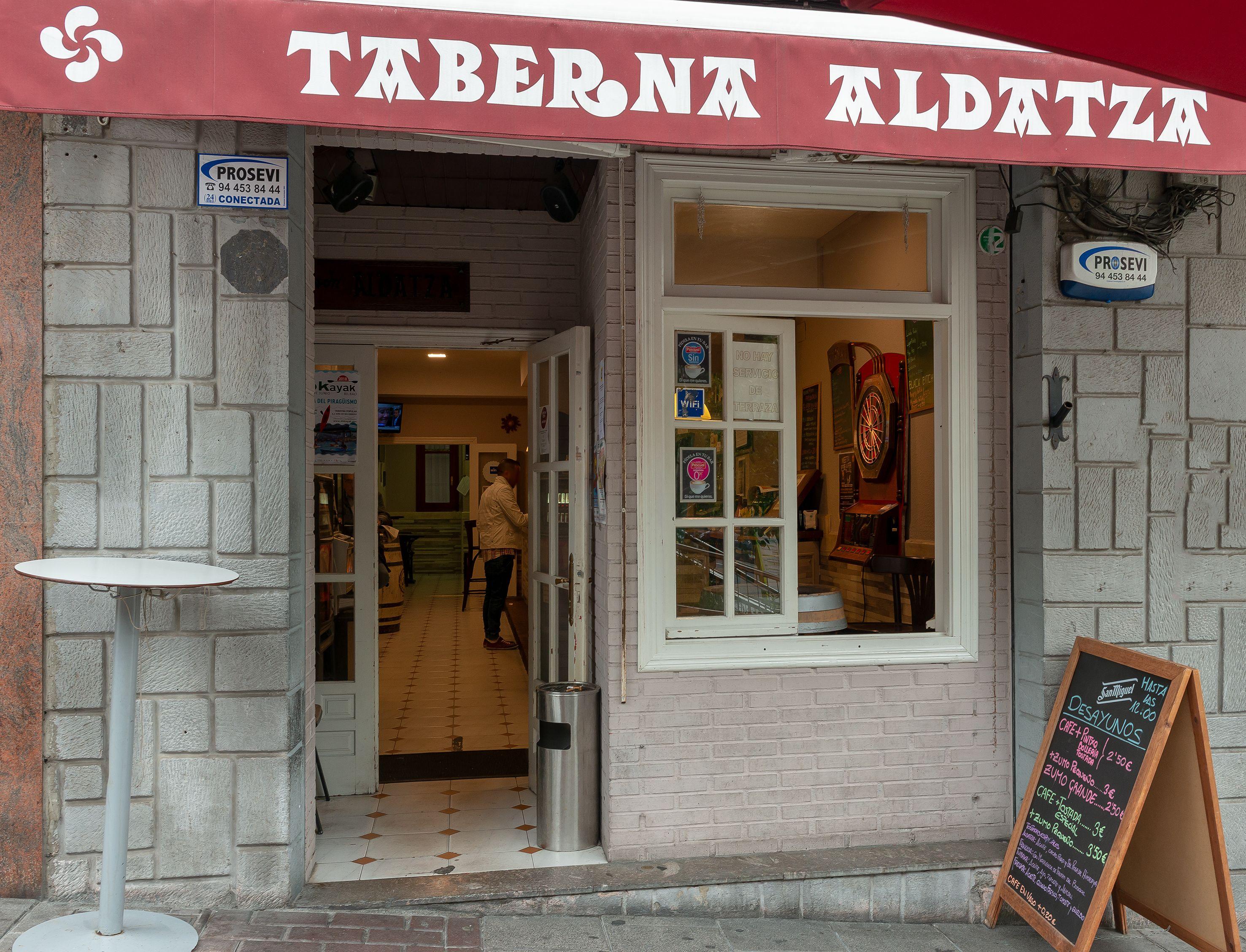 Taberna Aldatza Vizcaya en Portugalete