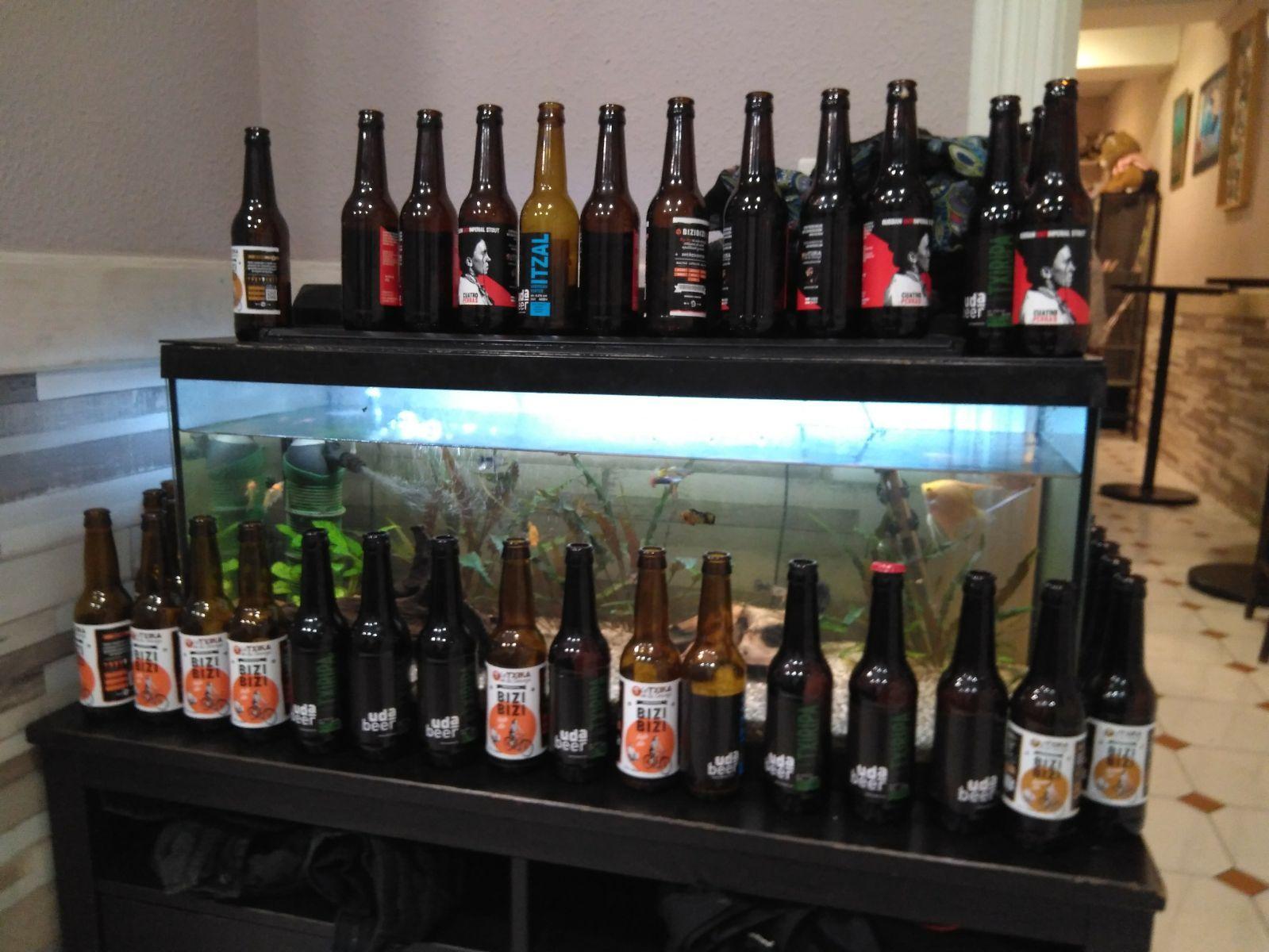 Cervezas: Servicios de Taberna Aldatza