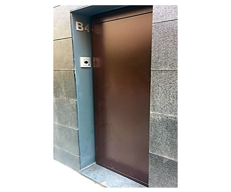 Puertas antiokupa en Madrid centro