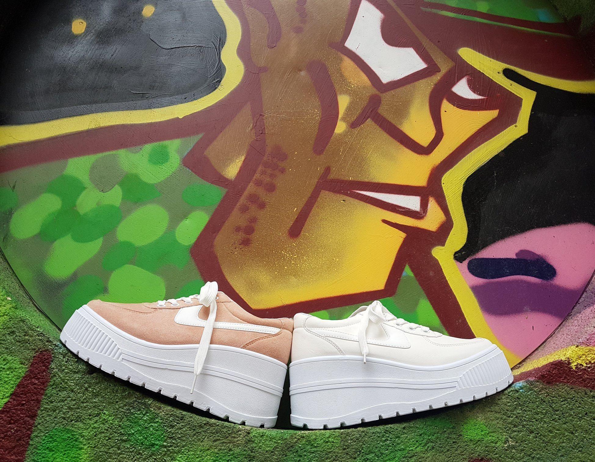 Zapato con plataformas en Torrelavega