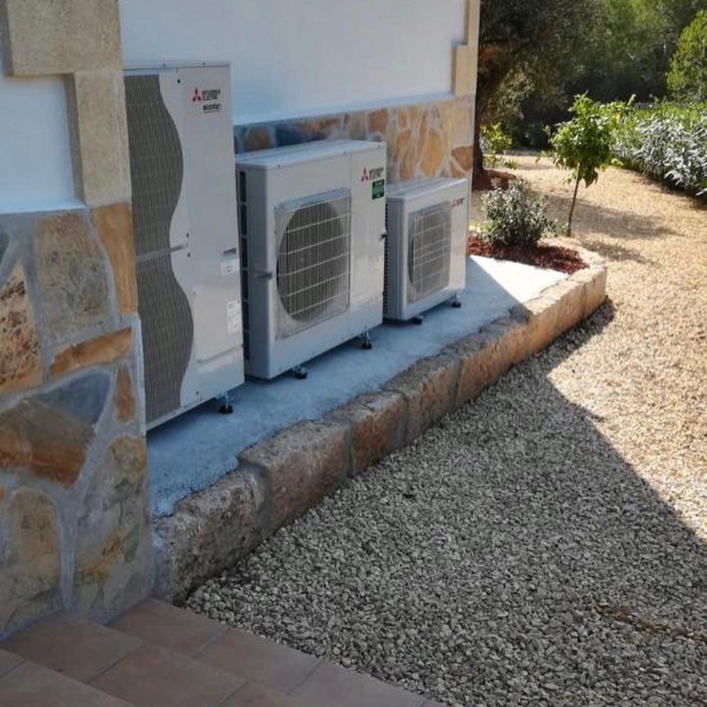 Sistemas de calefacción por aerotemia y climatización