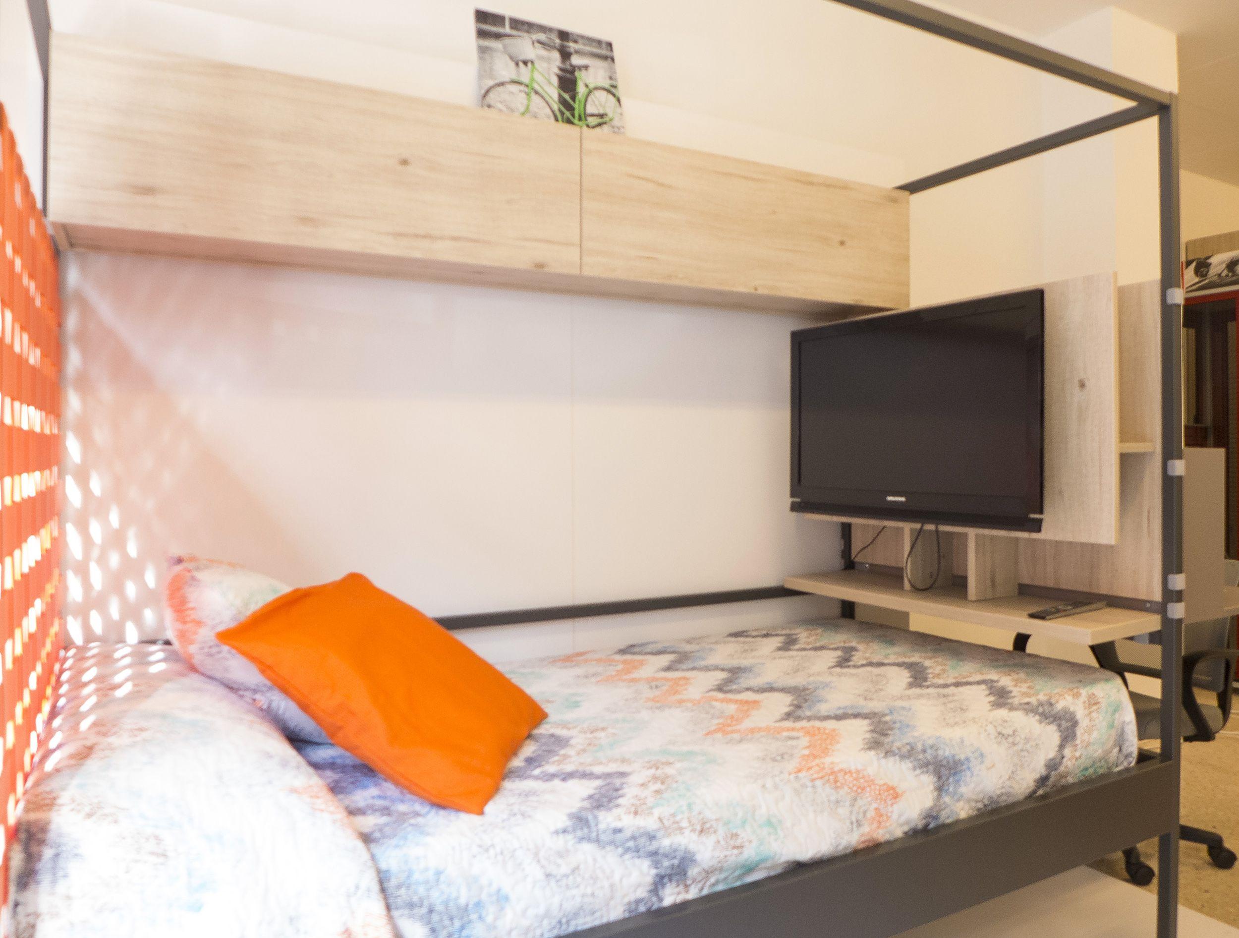 Dormitorios para espacios reducidos en Sarriá Sant Gervasi, Barcelona