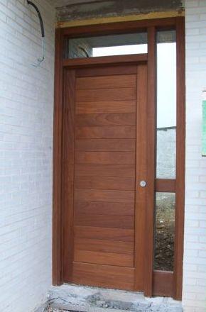 Puertas de entrada de madera en Cantabria