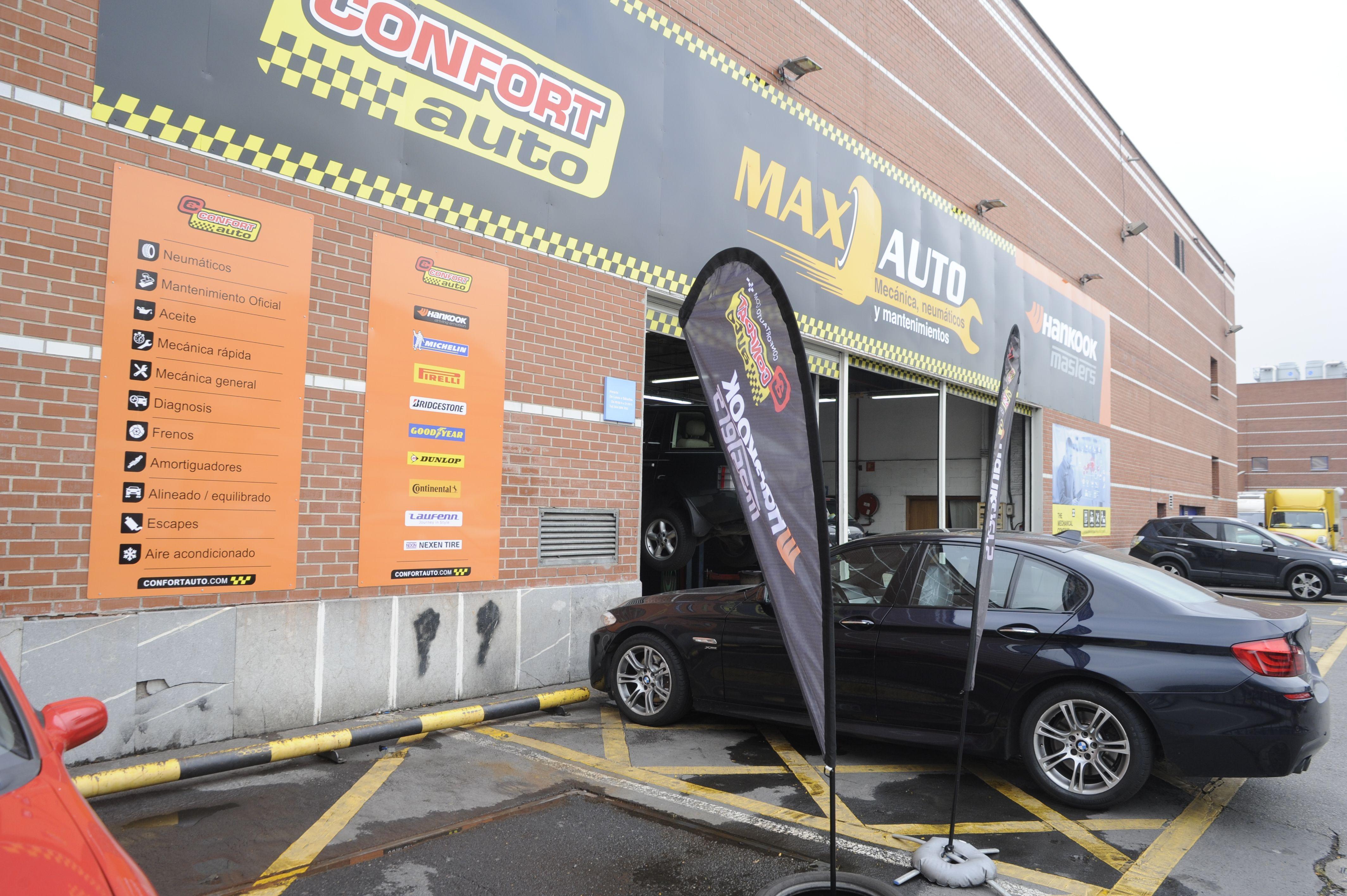 Foto 3 de Taller mecánico en especializado en el cambio de neumáticos en Baracaldo | Max Auto