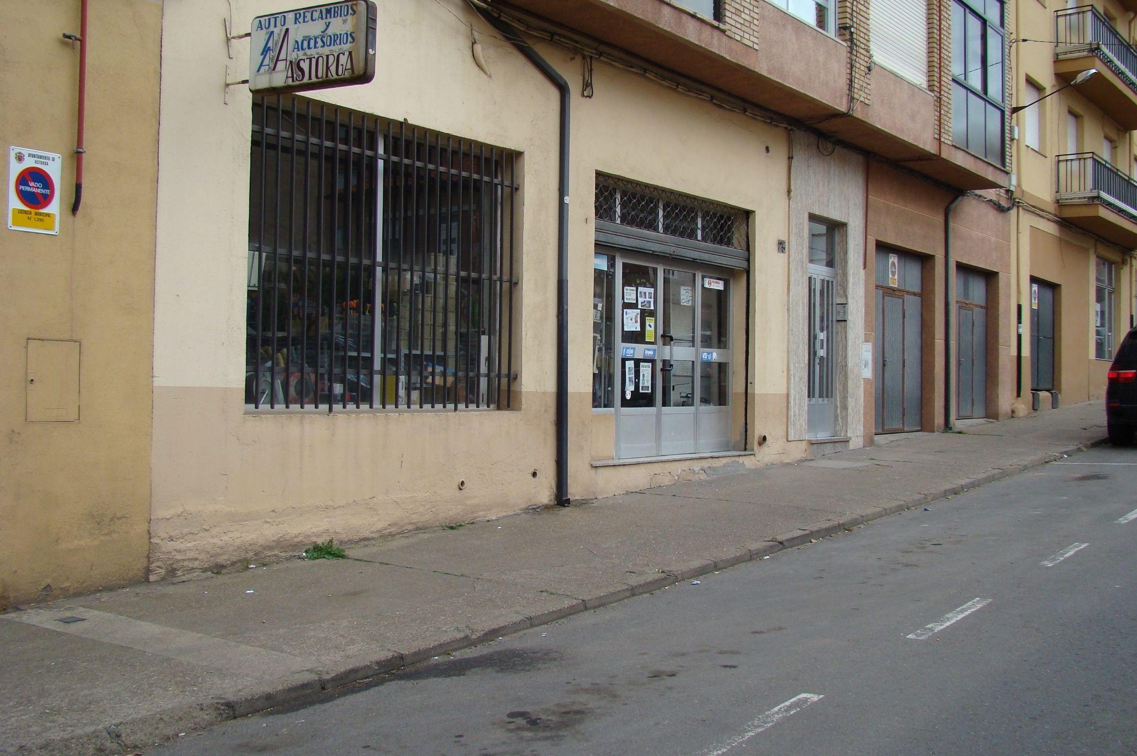 Recambios del automóvil en Astorga (León)