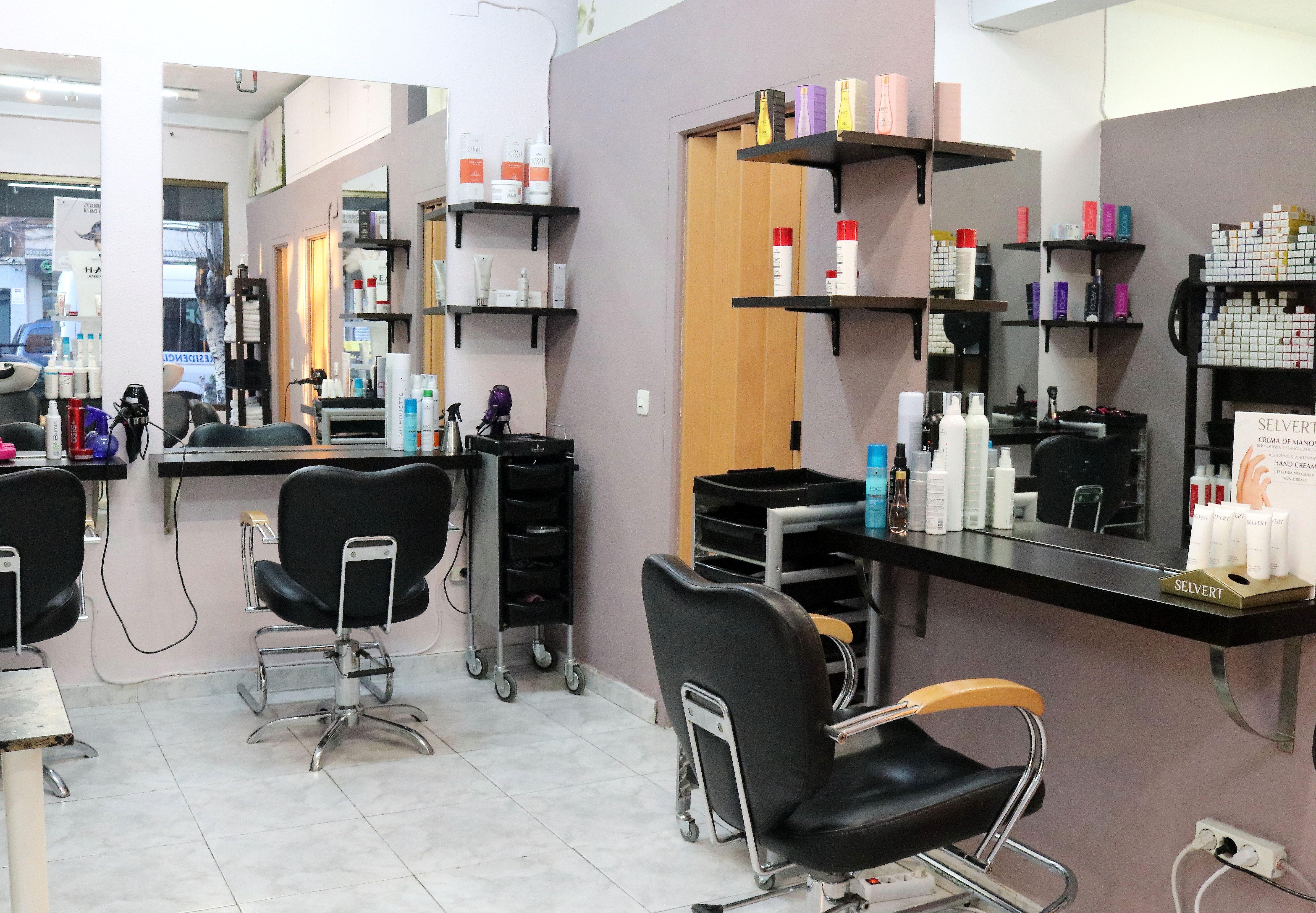 Instalaciones de nuestra peluquería en el barrio de Ciudad Lineal (Madrid)