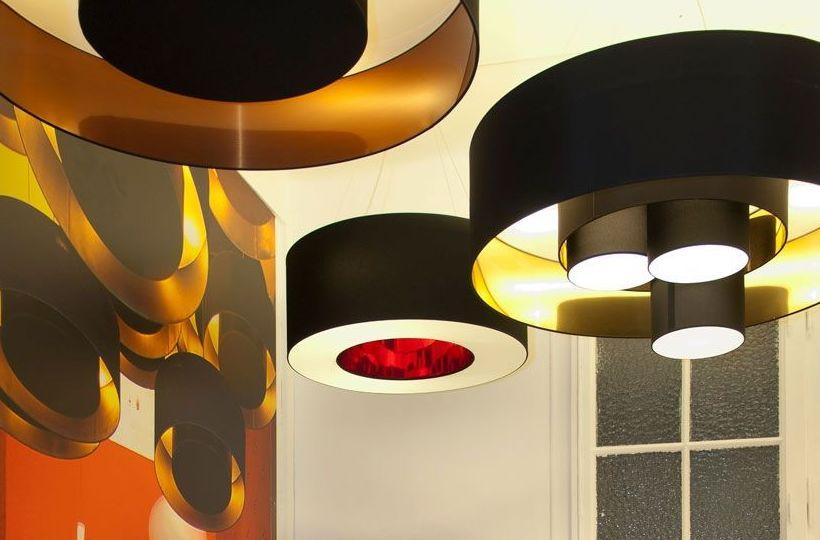 Plafones Home switch.Iluminación: Catálogo de muebles y sofás de Goga Muebles & Complementos
