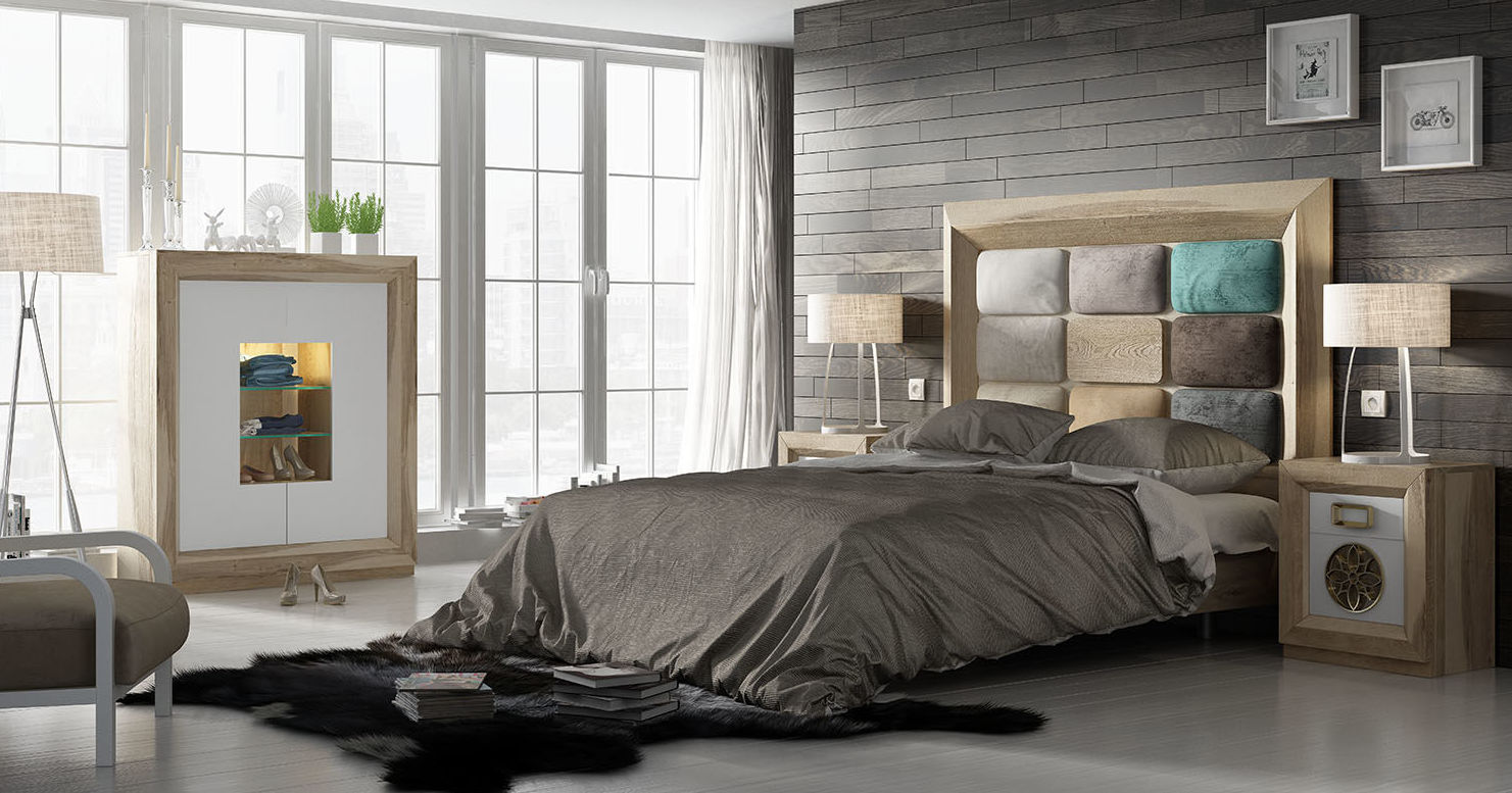 Dormitorios colección Enzo de Franco Furniture: Catálogo de muebles y sofás de Goga Muebles & Complementos