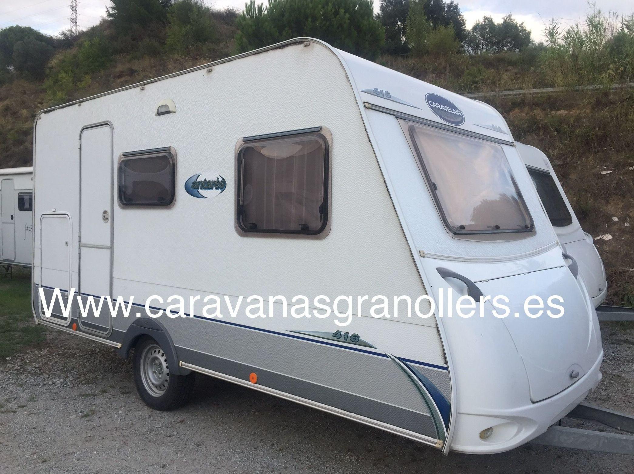 caravana caravelair antares luxe 416: Caravanas de ocasión de Caravanas Granollers