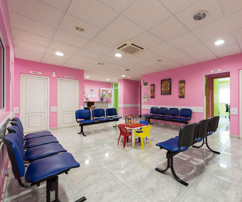 Sala de espera de nuestra clínica en Vecindario