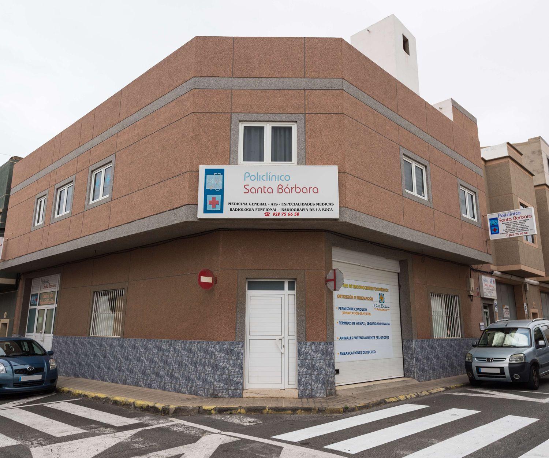 Policlínica Santa Bárbara en Vecindario