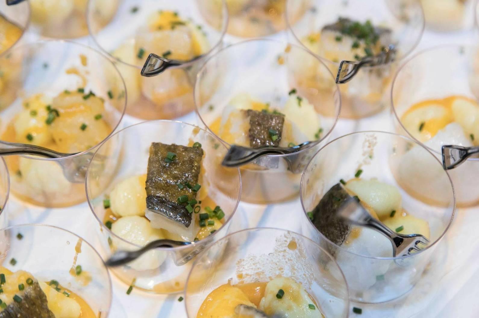 Bacalao Noruego con Catering Domenico