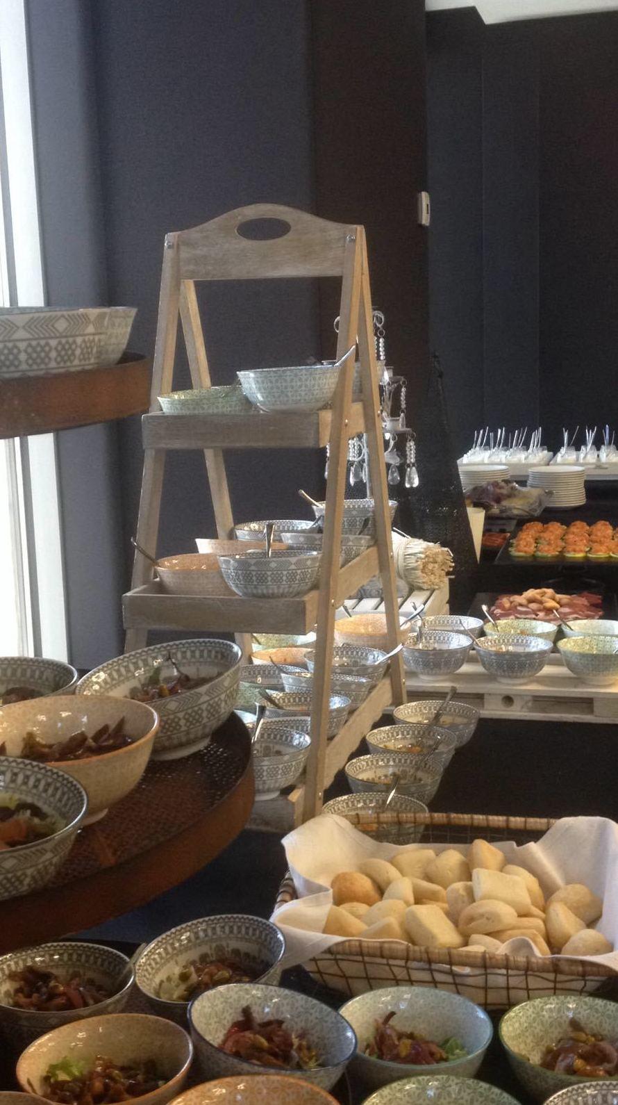 buffet con catering domenico