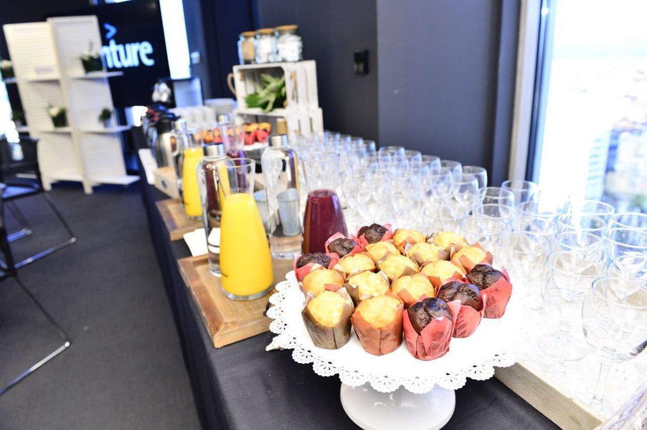 Catering para desayunos de trabajo en Madrid Centro