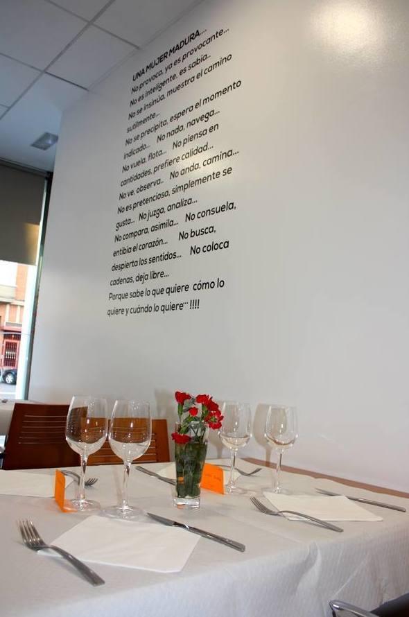 Restaurante arrocería La Raíz en Valladolid
