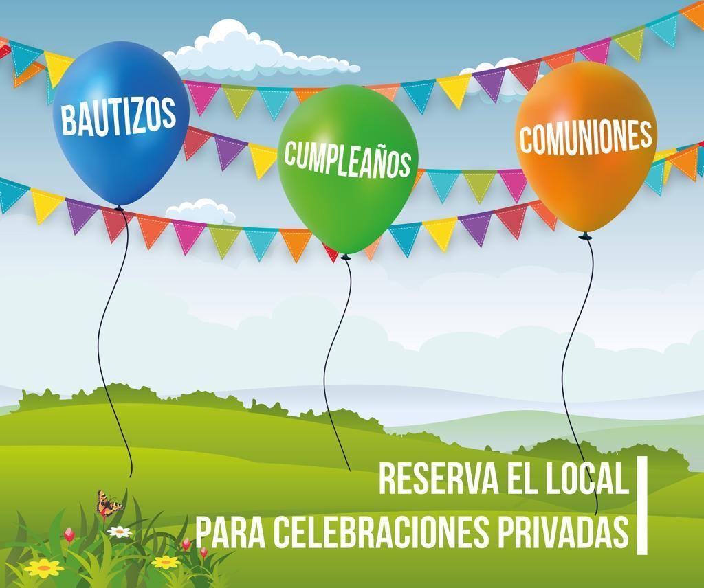 Celebra tu evento con nosotros