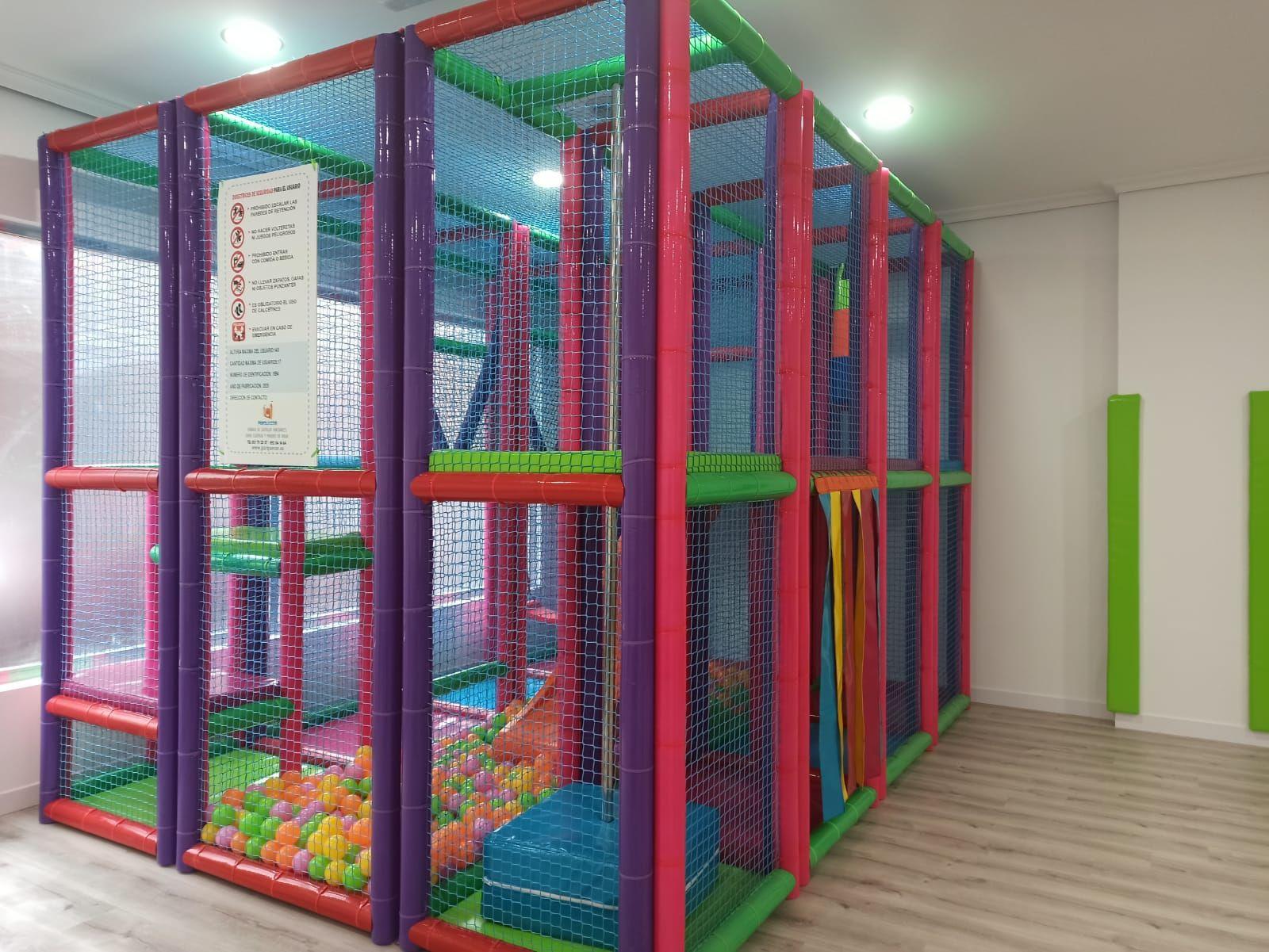 Parque infantil disponible